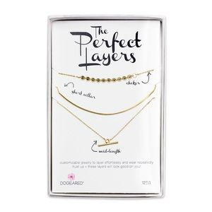 Dogeared Perfect Layers Delicate Bar Set